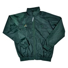 Henselite Rain Jacket - Bottle Green Unlined