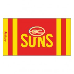 Henselite AFL Dri Tec Towel - Gold Coast Suns