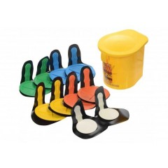 Rebound Disc Set Of 10 Velcro