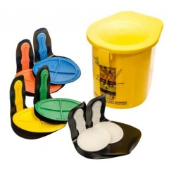 Rebound Disc Set Of 6 Velcro