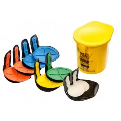 Rebound Disc Set Of 8 Velcro