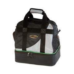 Henselite Bowls Bag: Model H557 Black/Grey
