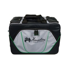 Henselite Bowls Bag: Model Sports Pro Black/Grey/Green