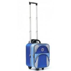 Drakes Pride Regal Trolley Bag Royal Blue/Lt Blue/Silver