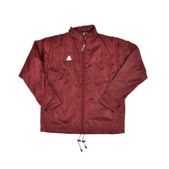 Henselite Rainwear: Jacket - Lined Drawstring Burgundy