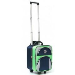 Drakes Pride Regal Trolley Bag Navy/Lime